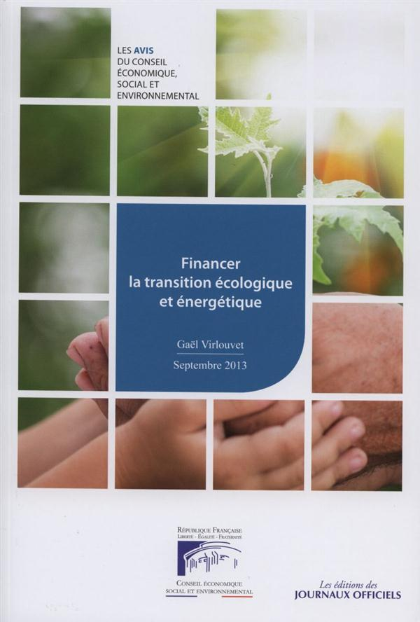 FINANCER LA TRANSITION ECOLOGIQUE ET ENERGETIQUE   CESE N 18